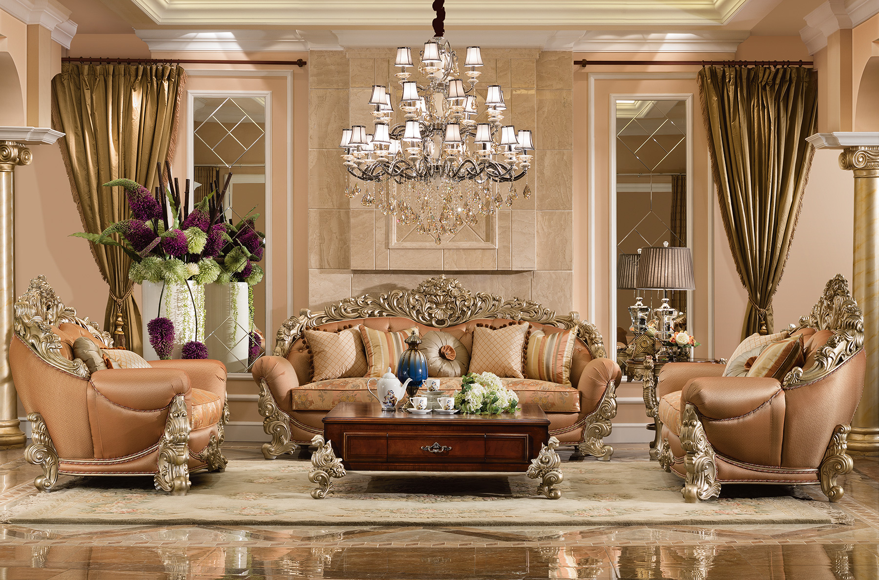 Royale Living Room Collection Orleans International